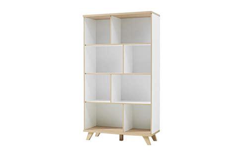 meubles bibliotheque meuble biblioth 232 que rangement blanc et ch 234 ne sonoma trendymobilier