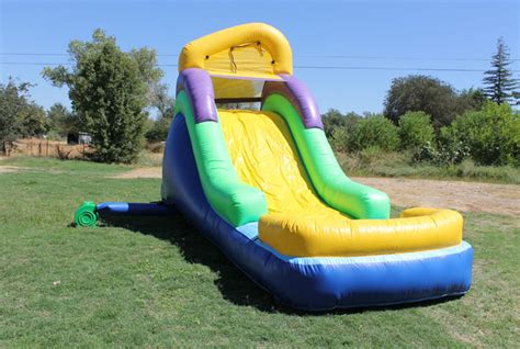 Backyard Water Slide by 14 Ft Backyard Water Slide