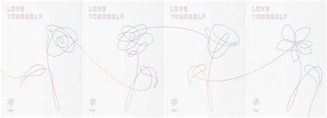 bts love yourself bts 5th mini album love yourself 承 her cd ver v