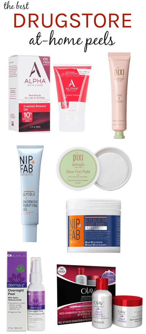 best skin peel go for the glow the best drugstore at home peels all