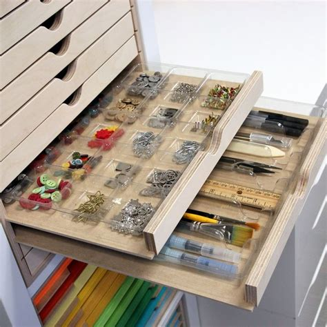 storage ideas for rubber sts 17 ideas about craft cabinet on craft armoire