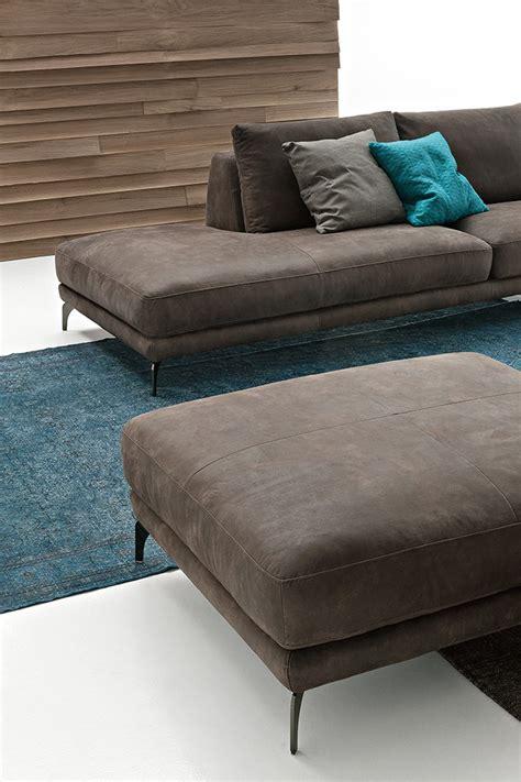 foster leather corner sofa by ditre italia design stefano