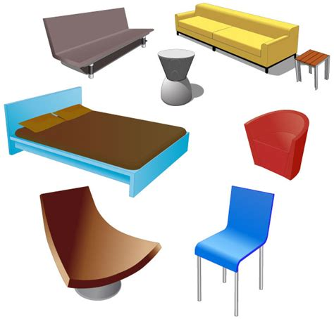 free couchs free furniture vector pack download free vector art
