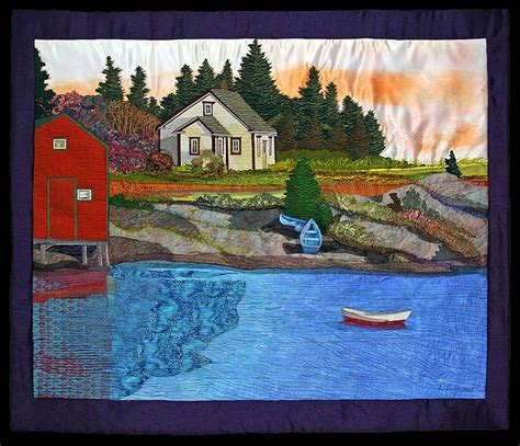 Landscape Fabric Scotia Where Play By Laurie Swim Fiber