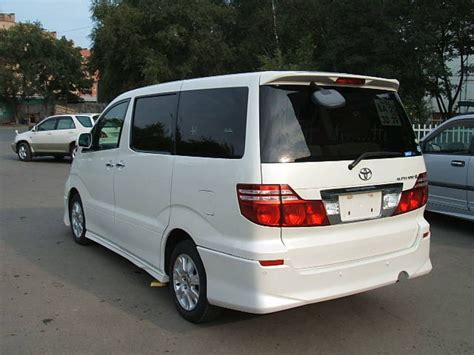 2005 Toyota Alphard Used 2005 Toyota Alphard Pictures