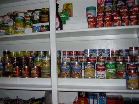 Stacker Shelf by 16 Diy Canned Food Organizers