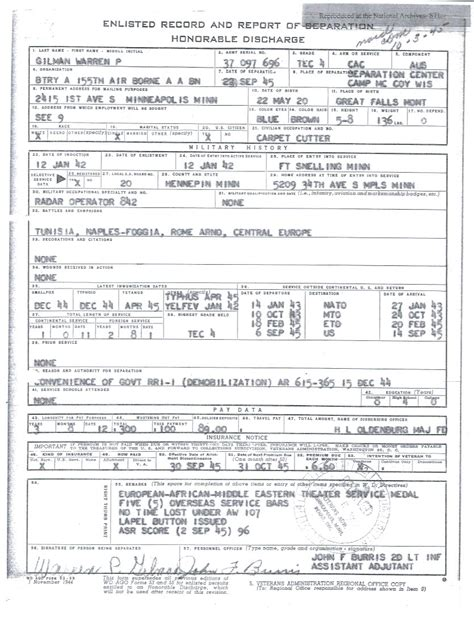 Us Army Records About Service Records And Official Personnel Html Autos Weblog