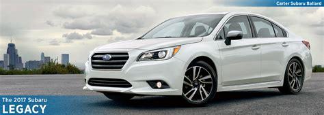 Subaru New Models by New 2017 Subaru Legacy Model Detail Information Seattle Wa