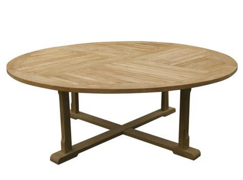 tavoli rotondi da giardino tavolo da giardino rotondo in legno athena il giardino