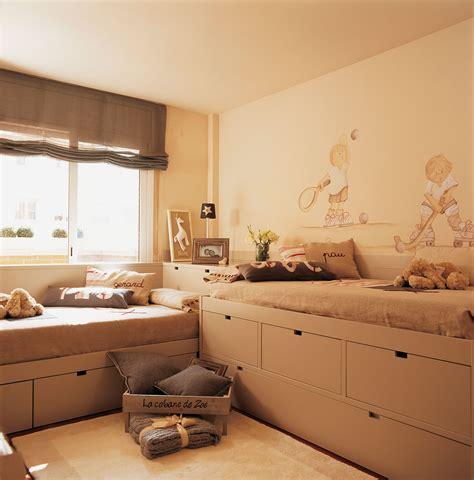 30 habitaciones para m 225 s de dos ni 241 os con buenas ideas