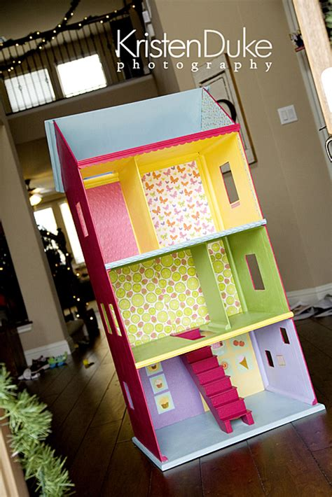 Handmade Doll House - diy handmad dollhouse
