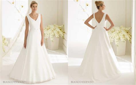 Brautkleider Und Abendkleider by Elegantes Schlichtes Brautkleid Aus Chiffon Samyra