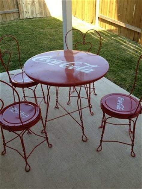coca cola table and chairs set 1721 best images about coca cola stuff on