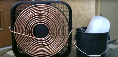 fan air conditioner the easy diy way to turn a fan into an air conditioner