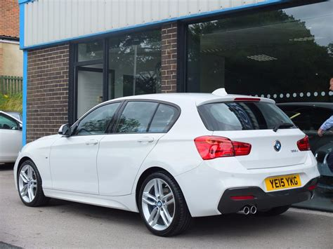 Radio Bmw Professional 1er 2017 by Used Bmw 1 Series 125d M Sport 5 Door Auto Leather Media