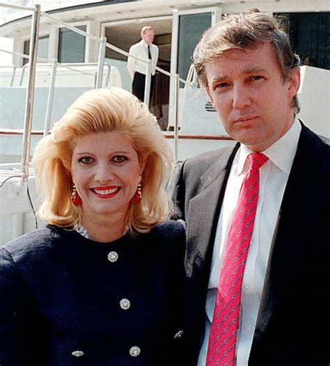 donald trump first wife the impossible to ignore story of donald trump