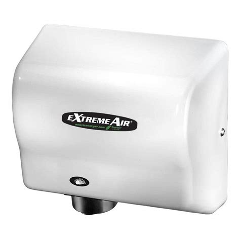 Automatic Dryer american dryer gxt9 extremeair automatic dryer with white abs cover 100 240v 1500w