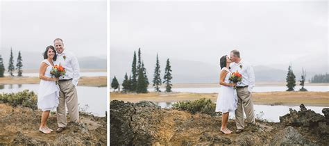 Wedding Planner Oregon by Bend Oregon Elopement At Sparks Lake On The Cascade Lakes Hwy