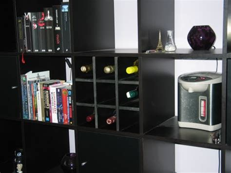 ikea rack hack expedit wine rack ikea hackers ikea hackers
