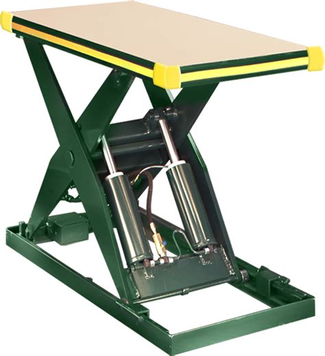 hydraulic lift table southworth products backsaver hydraulic lift tables