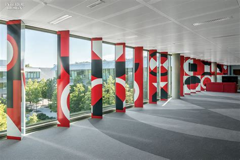 Santander Bank Corporate Office by 2x4 Designs Graphics For Banco Santander Hq In Madrid