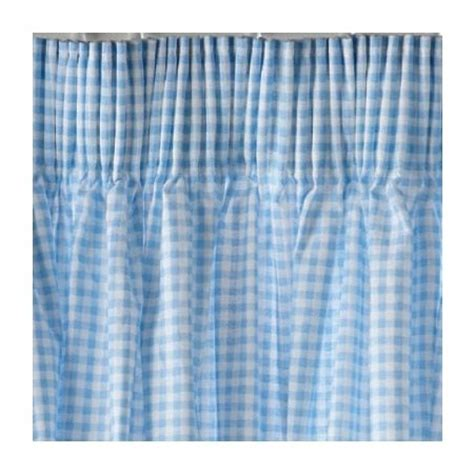 blue gingham curtains long length products i love