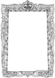 printable picture frames templates royal frame printables