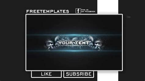 Free Amazing Youtube Banner Template Psd 2017 Youtube Banner Template 2017