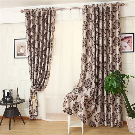 cheap bedroom curtains for sale bedroom curtains on sale coffee floral jacquard poly
