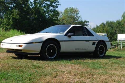 1988 Pontiac Fiero Formula For Sale by Buy Used 1988 Pontiac Fiero Formula Original In East