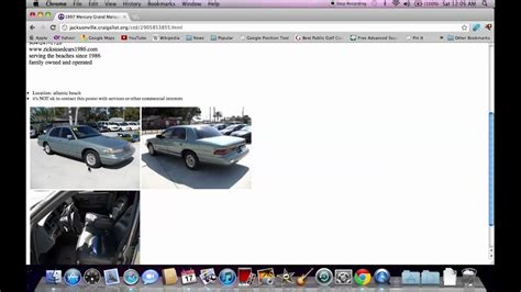 craigslist jacksonville fl  cars   search youtube