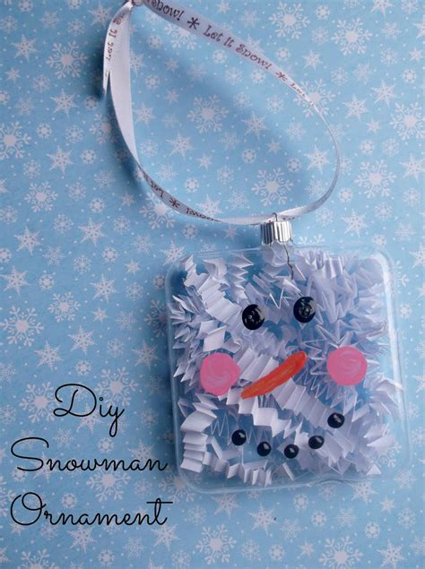 glass ornaments make snowman ornaments to make with glass ornament crafts
