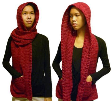 free pattern hooded scarf 17 best images about crochet hoodies cowl on pinterest