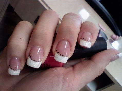 Easy Nail Art French Manicure | easy french nail designs pictures and tutorials
