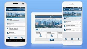 concur mobile   concur app center   concur