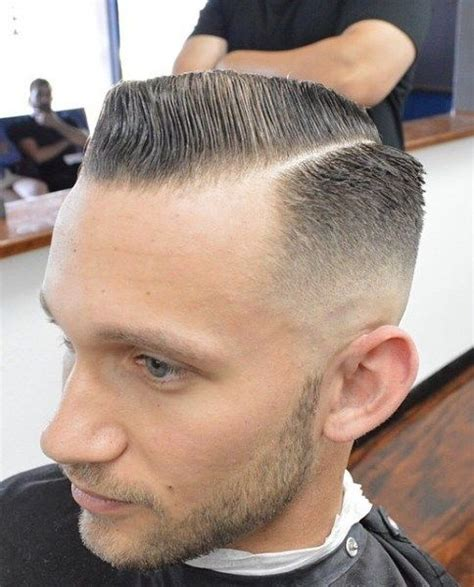 military haircut side part 156 best razor hair parting images on pinterest