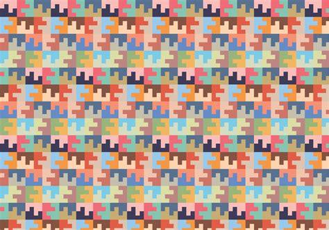 pastel square random pattern   vectors