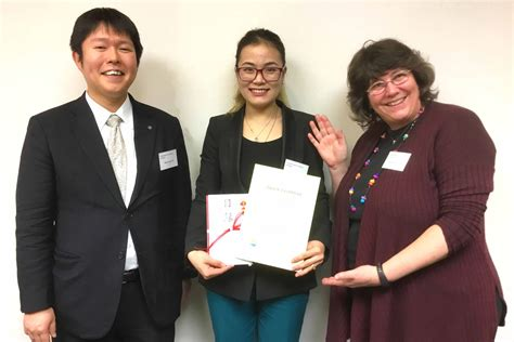 Iuj Mba Admission by Iuj Student Received An Award At Falia Essay Competition