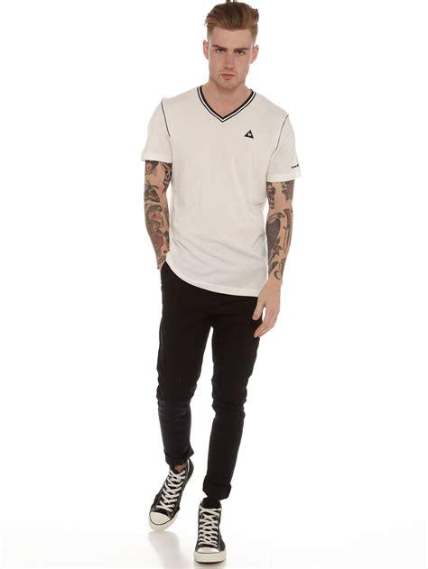 Tshirt Marshmellow Kg13 Store 1 le coq sportif icon cardan t shirt in marshmallow