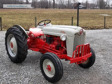 1953 ford 8n golden jubilee 1953 ford jubilee tractor hp