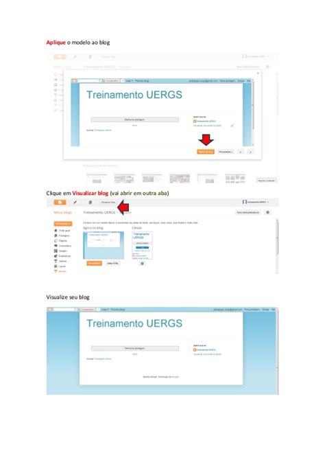 tutorial blogger portugues tutorial criando um blog
