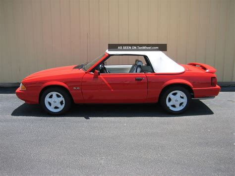 1992 mustang lx 1992 ford mustang lx convertible 2 door 5 0l