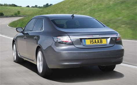 all new saab 9 5 saloon widescreen car image 04 of