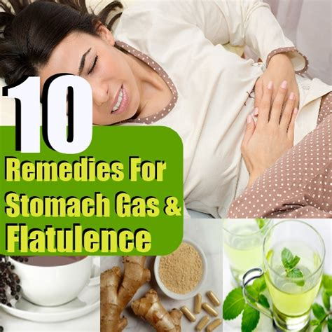 top 10 home remedies for stomach gas and