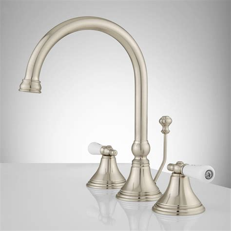 Small Sink Faucet by Melanie Widespread Gooseneck Bathroom Faucet Small