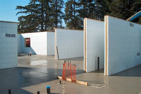 Insulated Concrete Forms   Commercial Construction Photos