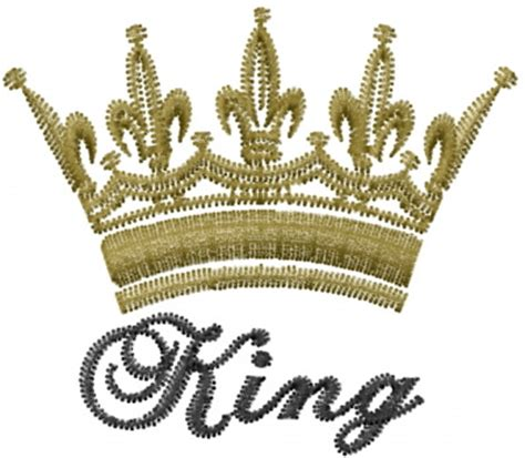 king crown design in hair cut kings crown embroidery designs machine embroidery designs