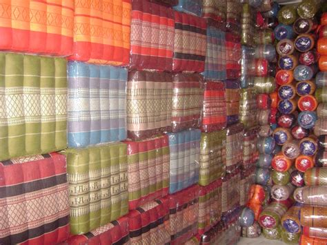 kapok matratze thaihocker sitzkissen thail 228 ndische dreieckkissen kapok