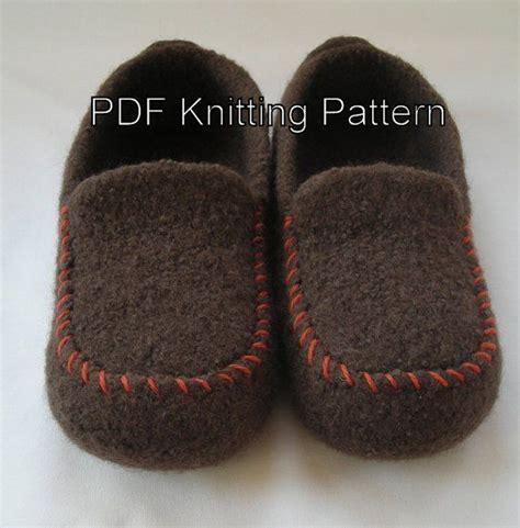 pattern felt slippers knitting pattern for men s felted slippers knitting
