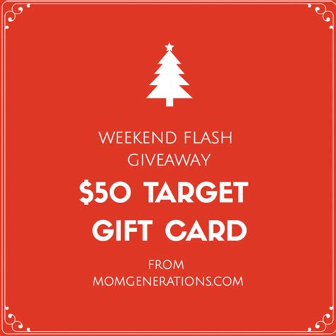 Target Giveaway - flash weekend giveaway 50 target gift card stylish life for moms